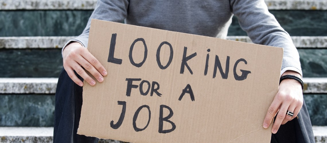 Unemployment total rises after two year absence